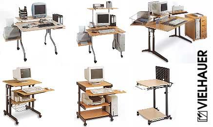 pc tische. Black Bedroom Furniture Sets. Home Design Ideas